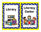 Classroom Center Signs