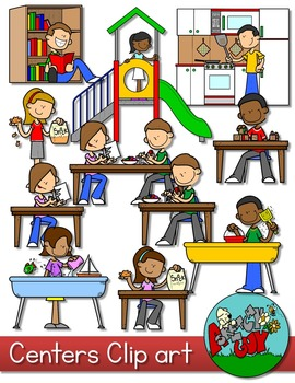 Classroom Centers Clip art