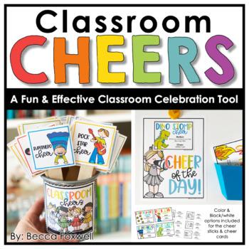 Classroom Cheers: 24 Creative, Fun, and Class Building Way