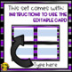 Chemistry Flashcards- Editable