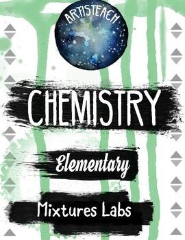 Classroom Chemistry Mixtures Labs - Dissolving and Liquid