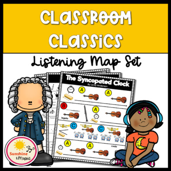 Classroom Classics - Listening Map Bundle