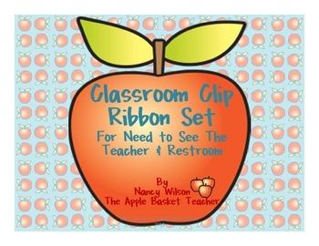 Classroom Clip Ribbon Set