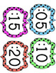 Classroom Clock Numbers, Clock Craft, & Bathroom Sign Out Sheet