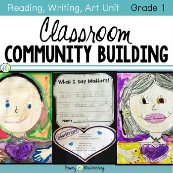 Classroom Community Building Unit (Back to School activities)