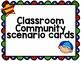 Classroom Community Team Building FREEBIE! - Scenarios to