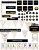 Colorful Confetti Classroom Decor Pack Bundle (Editable)