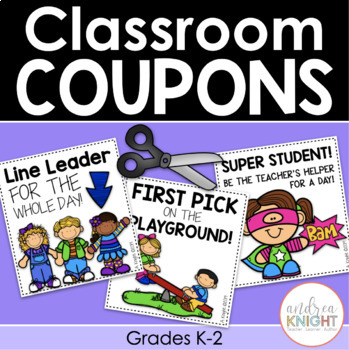 Classroom Coupons  {Rewards for Responsible Students}
