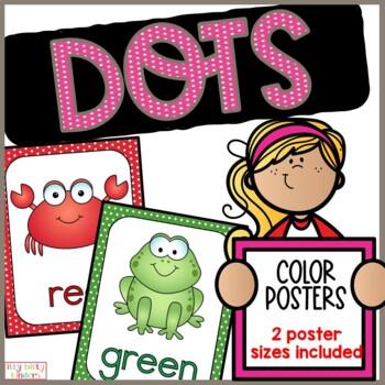 Color Posters: polka dots