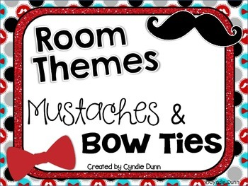Room Themes: Mustache