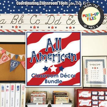 All American Classroom Decor Bundle