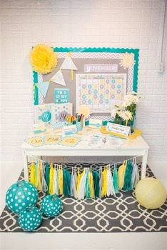 Classroom Decor Hello! Sunshine ~ Gray ~ Full Collection Bundle
