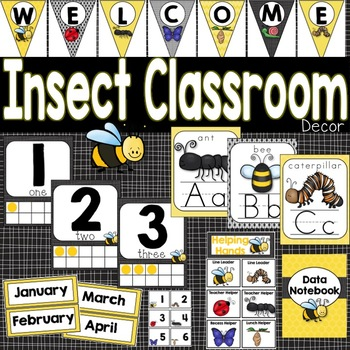 Classroom Decor Insects