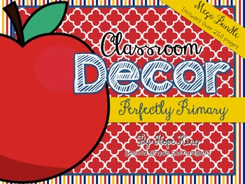 Classroom Decor Mega Bundle: Perfectly Primary