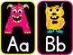 Monster Alphabet Posters Circle Time
