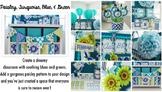Classroom Decor Paisley, Turquoise, Blue & Green - Full Co