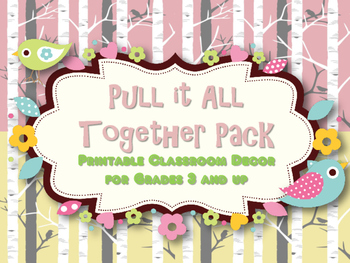 Classroom Decor: Pull It All Together, Birch Trees