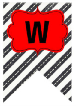 Classroom Decor Road Trip Welcome Banner Street View