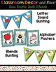 Classroom Decor and Labels Bundle- Purple Polka Dots