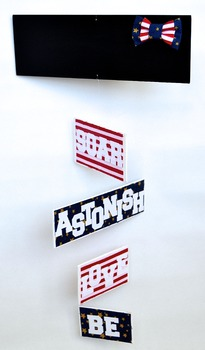 Classroom Decoration-  Personalized Mobile - Patriotic Theme