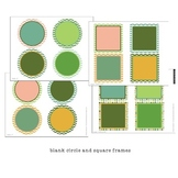 Classroom Design Kit - Dots and Chevron editable file
