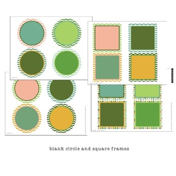 Classroom Design Kit - Dots and Chevron editable file