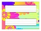 Classroom Desktop Name tag Nameplate Collection - 20 Full-