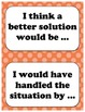 Classroom Discussion Starter Cards