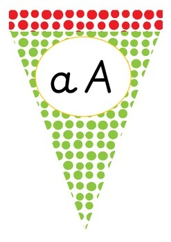 Classroom Display Alphabet Line Bunting