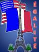 French:  Liberté, Egalité. Fraternité