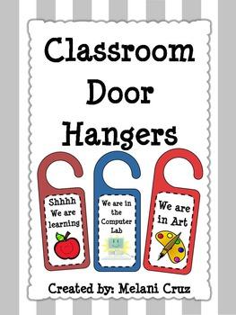 Classroom Door Hangers