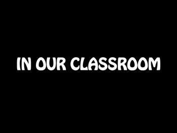 Classroom Door Poster