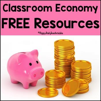 Classroom Economy Free Resources