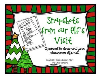 Classroom Elf Journal [Freebie!]