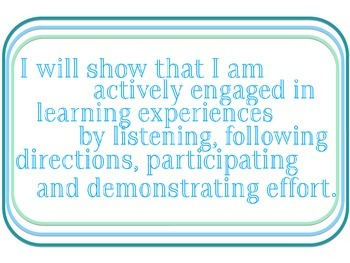 Classroom Expectations for Bulletin Board