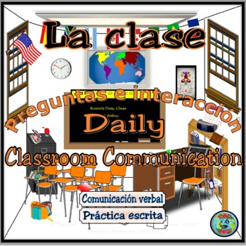 Classroom Expressions for Daily Communication #1 / Pregunt