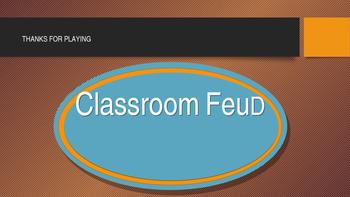 Classroom Feud!