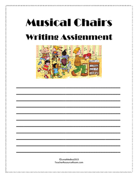 Classroom Game: Musical Chairs Writing Game