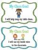 Classroom Goals FREEBIE!!! - Visual Cards