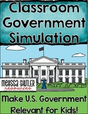 Classroom Government Simulation- Making U.S. Government Re