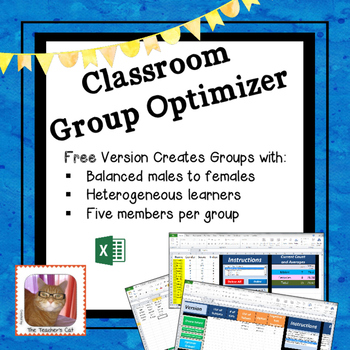 Classroom Group Optimizer - Make Balanced Groups of Five w
