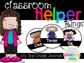 Classroom Helper Display Rings