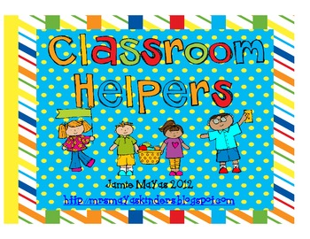 Classroom Helper Set