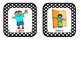 Classroom Helper and Job Cards Black and White Polka Dot