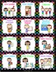 Classroom Helpers/Jobs (Bright Polka Dots)
