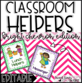Classroom Helpers Kit for a Class Jobs Board