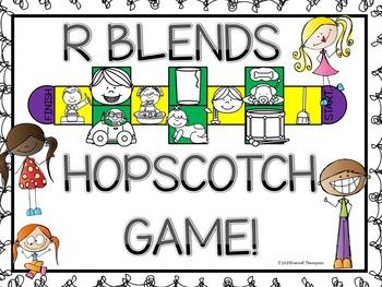 Phonics R Blends (Hopscotch Game)
