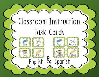 Classroom Instruction Task Cards