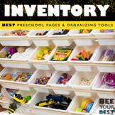 Classroom Inventory Binder with Melonheadz friends
