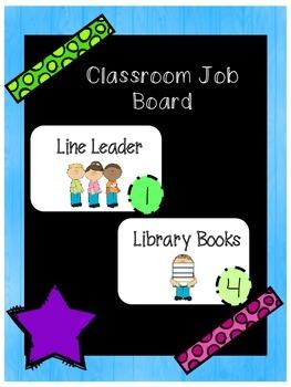 Classroom Job Board